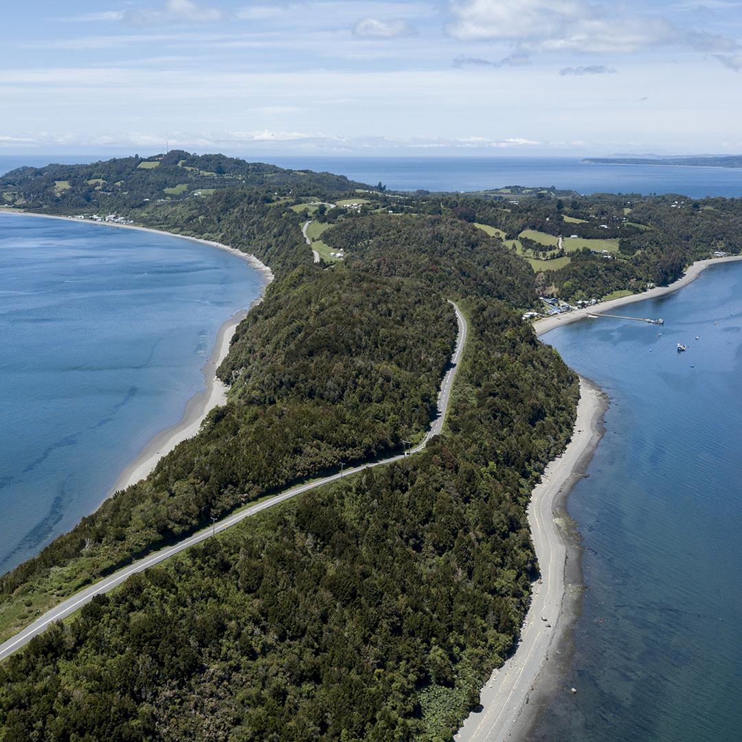 viaja por las islas de Chiloé